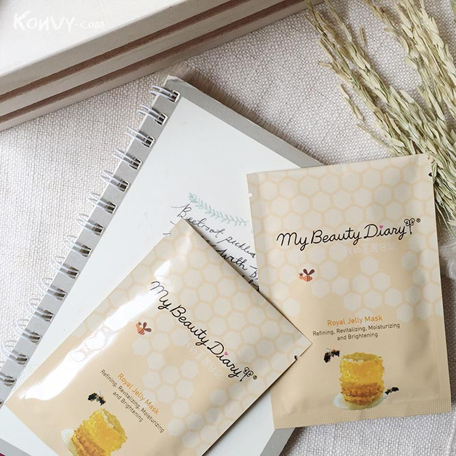 แพ็คคู่ My Beauty Diary Royal Jelly Mask_7