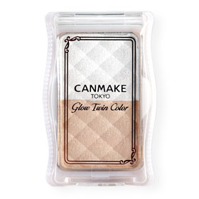 Canmake Glow Twin Color #01 White Beige