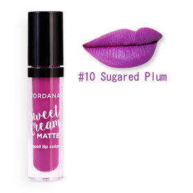 Jordana Sweet Cream Matte #10 Sugared Plum