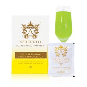 Aphrodite OSY SC + SOP 15,000mg No.1 Anti Aging  (15g x 15 packs)