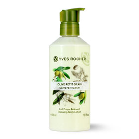 Yves Rocher Relaxing Body Lotion 390ml #Olive Petitgrain