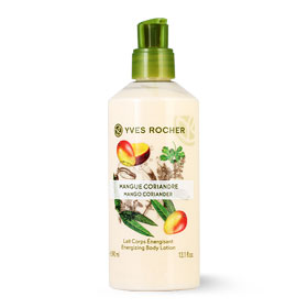 Yves Rocher Energizing Body Lotion 390ml #Mango Coriander