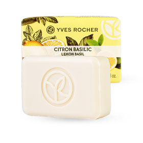 Yves Rocher Energizing Soap 80g #Lemon Basil