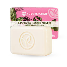 Yves Rocher Energizing Soap 80g #Raspberry Peppermint