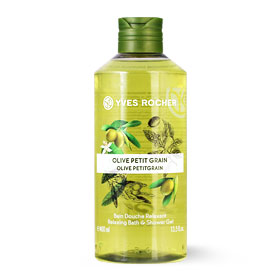 Yves Rocher Relaxing Bath & Shower Gel 400ml #Olive Petitgrain
