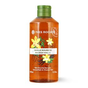 Yves Rocher Sensual Bath & Shower Gel 400ml #Bourbon Vanilla