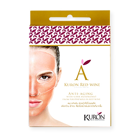 Kuron Red Wine Crystal Mask 1 pcs