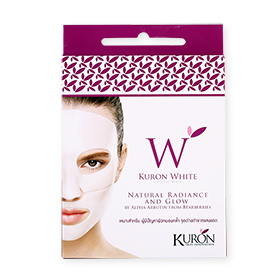 Kuron White Crystal Mask 1 pcs