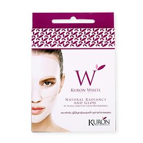 Kuron White Crystal Mask 1 pcs