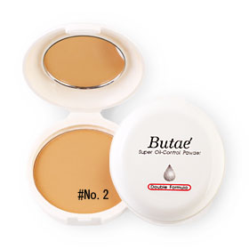 แพ็คคู่ Butae Super Oil-Control Powder Double Formula #No.3 Golden Brown (14g x 2)