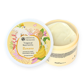 Oriental Princess Tropical Nutrients Banana Advanced Hair Treatment Mask Enriched Formula 160g