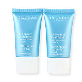 แพ็คคู่ Clarins Hydra Quench Cream-Gel (15mlx2)