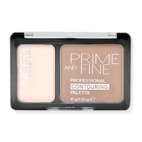 Catrice Prime And Fine Professional Contouring Palette #010 Ashy Radiance