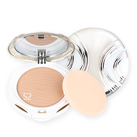 Mistine See Through Super Oil Control Powder SPF25/PA++ #S2 ผิวกลาง
