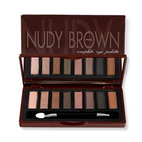 Mistine Nudy Brown Complete Eye Palette
