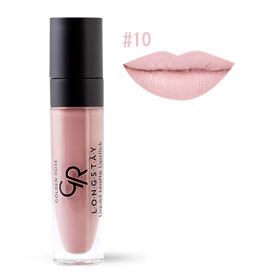 Golden Rose Longstay Liquid Matte Lipstick #10