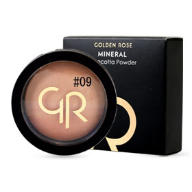 Golden Rose Mineral Terracotta Powder #09