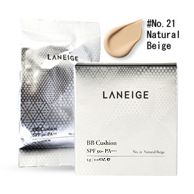 Laneige BB Cushion SPF50+PA+++ #21Natural Beige 5g