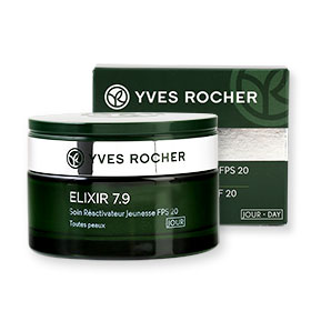 Yves Rocher Elixir 7.9 Youth Reactivating Care SPF20 - Day Cream 50ml