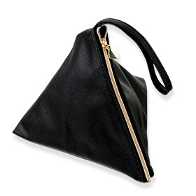 Lancome   Bag Trapezoid Black