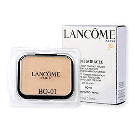 Lancome Teint Miracle Compact Powder Foundation Bare Skin Perfection Natural Light Creator SPF20/PA+++ (Refill) 10g #BO-01
