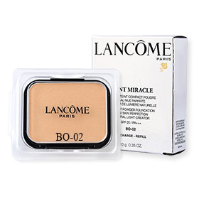 Lancome Teint Miracle Compact Powder Foundation Bare Skin Perfection Natural Light Creator SPF20/PA+++ (Refill) 10g #BO-02
