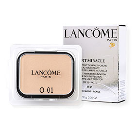 Lancome Teint Miracle Compact Powder Foundation Bare Skin Perfection Natural Light Creator SPF20/PA+++ (Refill) 10g #O-01