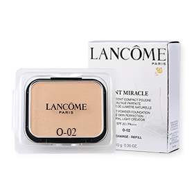 Lancome Teint Miracle Compact Powder Foundation Bare Skin Perfection Natural Light Creator SPF20/PA+++ (Refill) 10g #O-02