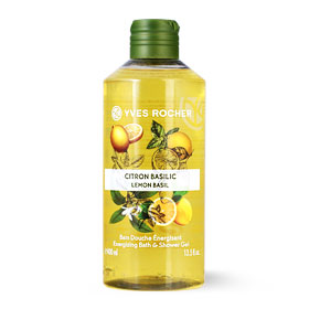 Yves Rocher Energizing Bath & Shower Gel 400ml #Lemon Basil