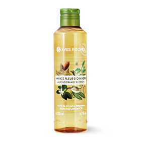 Yves Rocher Relaxing Shower Oil 200ml #Almond Orange Blossom