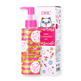 DHC Deep Cleansing Oil 120ml # Tamagawa Yoshiko The Cat