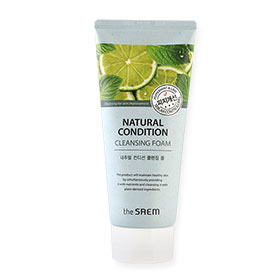 The Saem Natural Condition Cleansing Foam Sebum Controlling 150ml
