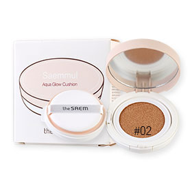 The Saem Saemmul Aqua Glow Cushion 15g #02 Natural Beige
