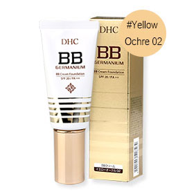 DHC BB Cream Foundation SPF20/PA++ 40g #Yellow Ochre 02