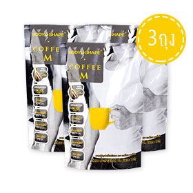 Bodyshape Coffee For Men (10 Sachets x 3)
