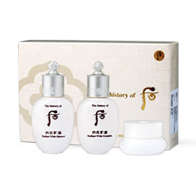 The History of Whoo GongJinHyang Seol Radiant White Special Gift Set 3 items