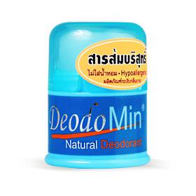 DeodoMin Natural Deodorant Stick 20g(สินค้านี้ไม่ร่วมรายการซื้อ 2 ชิ้นฟรีค่าจัดส่ง)