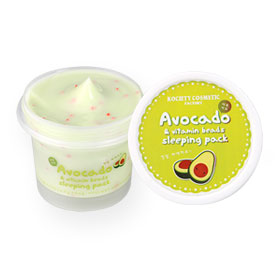 Kociety Avocado & Vitamin Beads Sleeping Pack 100ml