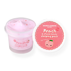 Kociety Peach & Vitamin Beads Sleeping Pack 100ml