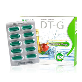 Yes! Diet DT - G + Apple Ciber Vinegar. (Green) (10 capsule)