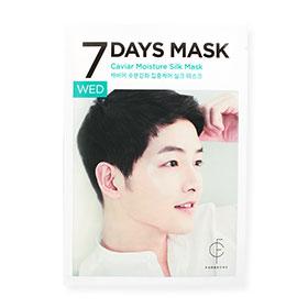 Forencos 7Days Mask 1 Sheet #Caviar Moisture Silk Mask-Wed(สินค้านี้ไม่ร่วมรายการซื้อ 2 ชิ้นฟรีค่าจัดส่ง)