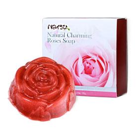 Natsu Natural Charming Roses Soap 100g
