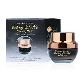 Nuntakar Whitening Gluta Plus Sleeping Mask 20g