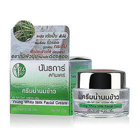 Nuntakar Young White Milk Facial Cream 22g
