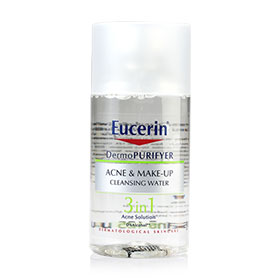 Eucerin Dermo Purifyer Ance & Make-Up Cleanaing Water 3 in 1 Acne Solution 125ml