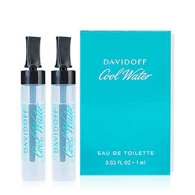 แพ็คคู่ Davidoff Cool Water EDT(1mlX2pcs)