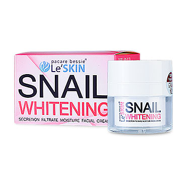 Le'SKIN Snail Whitening Secretion Filtrate Moisture Facial Cream 15ml