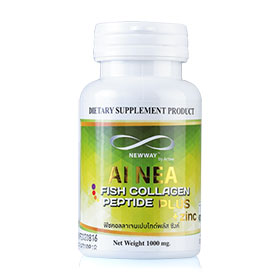 New Way Ai Nea Fish Collagen Peptide Plus Zinc 1000mg (14 tables)