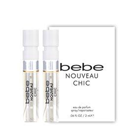 แพ็คคู่ Bebe Nouveau Chic EDP (2mlx2pcs)