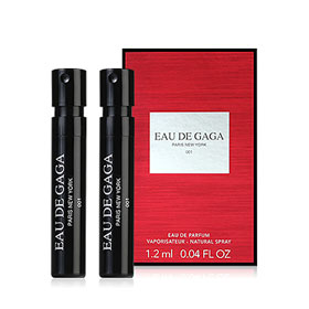 แพ็คคู่ Eau De Gaga Paris New York 001 EDP (1.2mlx2pcs)